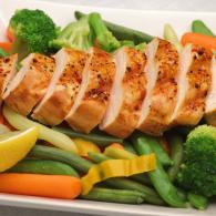 Chicken with Fresh Vegetables